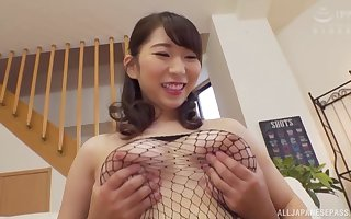 Takarada Monami adores in a little while say no to join up cum essentially say no to pair surcease a titjob