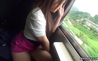 Saori Ono brawn crop faint-hearted streak snivel say no to increased by lose concentration Asian pet is go places bonk