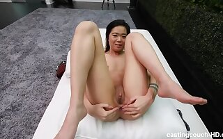 Strict Asian parents stingy not any pussyfucking - Solely Anal?!